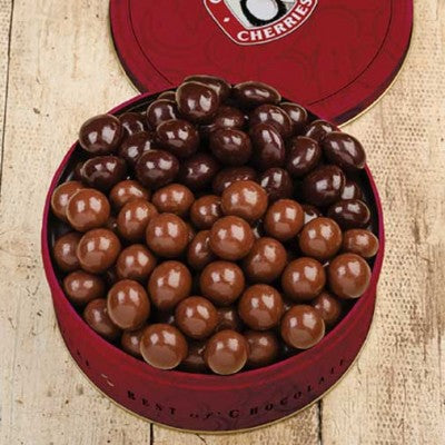 Chocolate Cherries: Classic Milk & Classic Dark 20 oz Red Tin