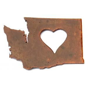 Washington Heart Magnet