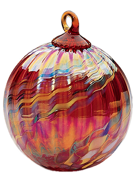 Ornament - Classic Swirl - Holiday Glass 3