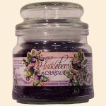 Candle - Wild Huckleberry - Round Glass Jar 16 oz