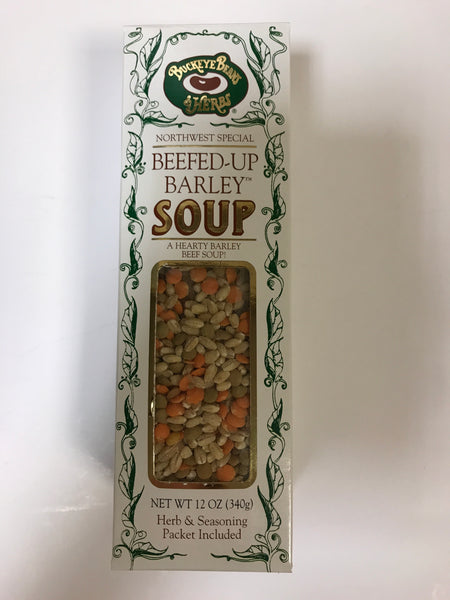 Soup Mix - Beefed-Up Barley Soup - 12 oz