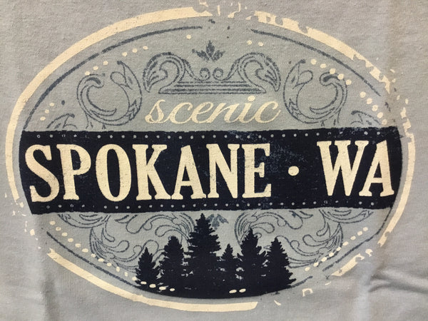T-Shirt - Scenic Spokane - Womens'