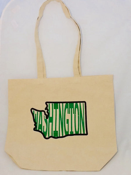 Tote Bag - Washington in Washington State - Canvas