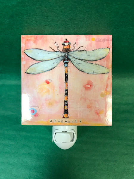 Colorful Animal Nightlight - Dragonfly