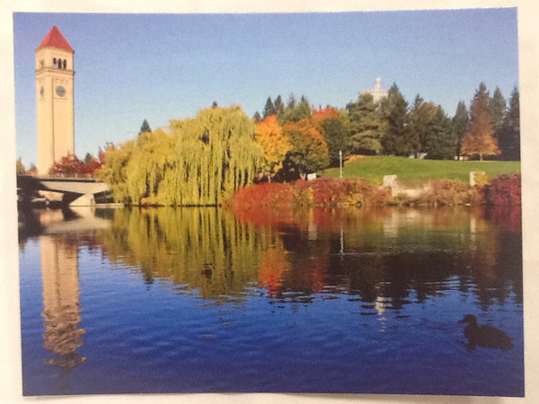 Postcard - Fall In Riverfront Park