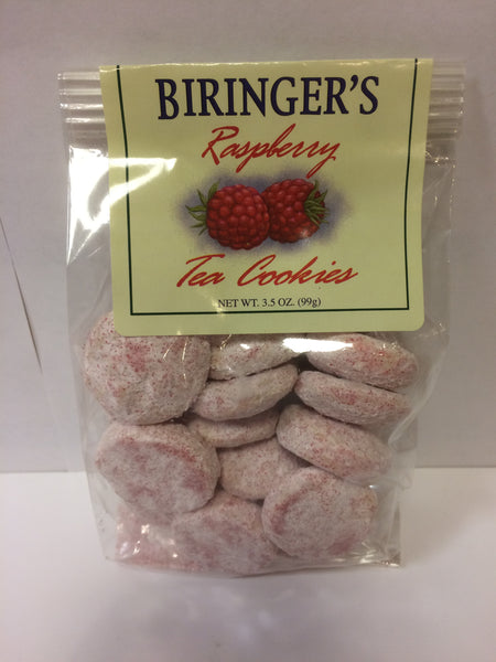 Cookies - Biringer's Raspberry Tea Cookies - 3.5 oz