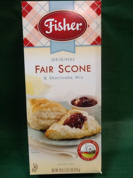 Fisher Fair Scone & Shortcake Mix
