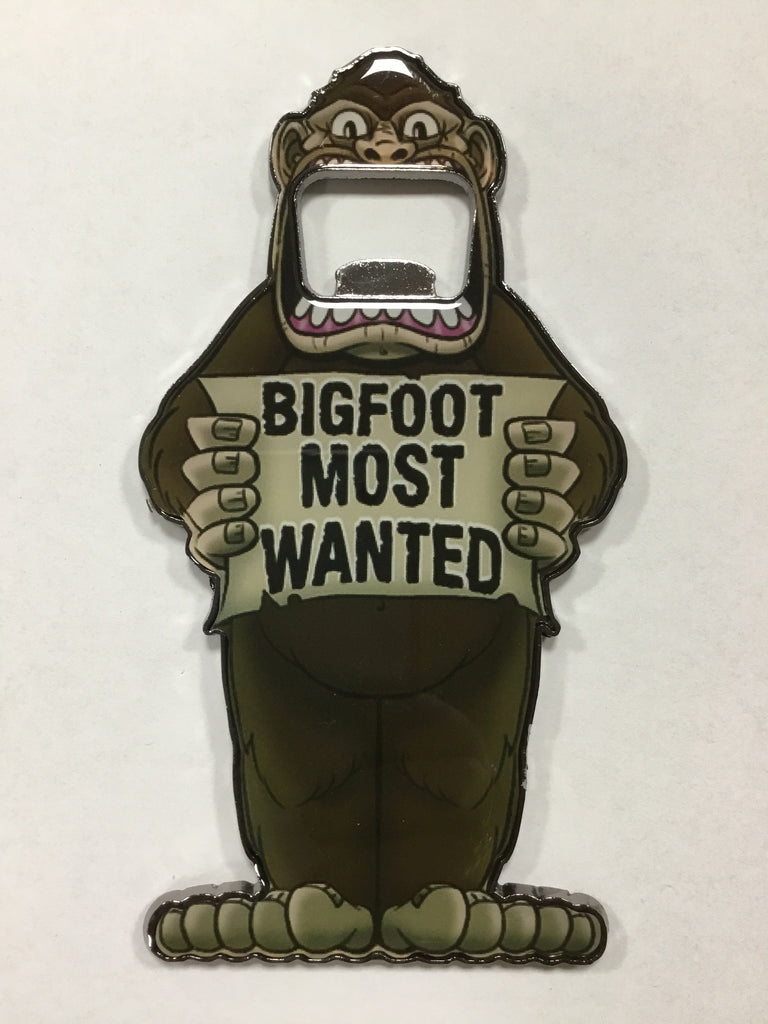 "Bottle Opener - ""Bigfoot Most Wanted"""