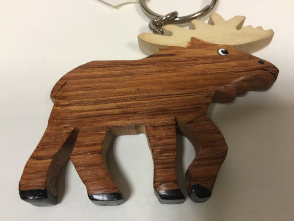 Wood Keychain -