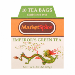 Tea - Emperor's Green Tea 0.85 oz/10 Tea Bags