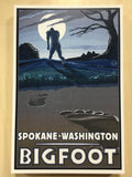Postcard - Bigfoot Spokane, WA