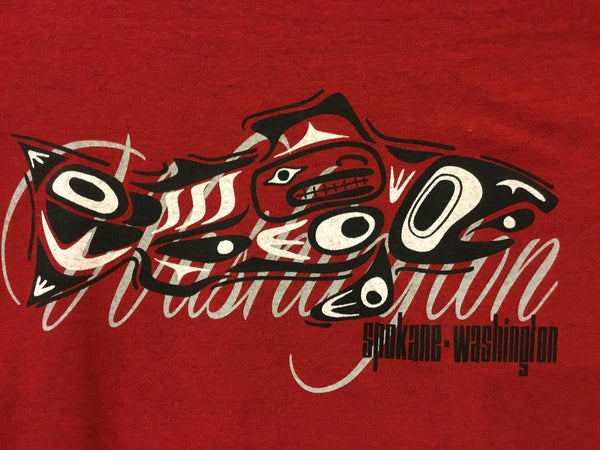 T-Shirt - Spokane Washington Tribal Design