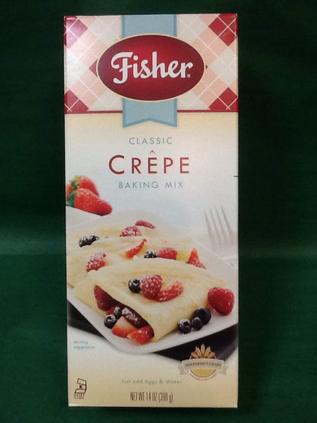 Fisher Classic Crêpe Baking Mix - 14 oz