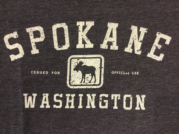 T-Shirt - Spokane WA Issued for Official Use