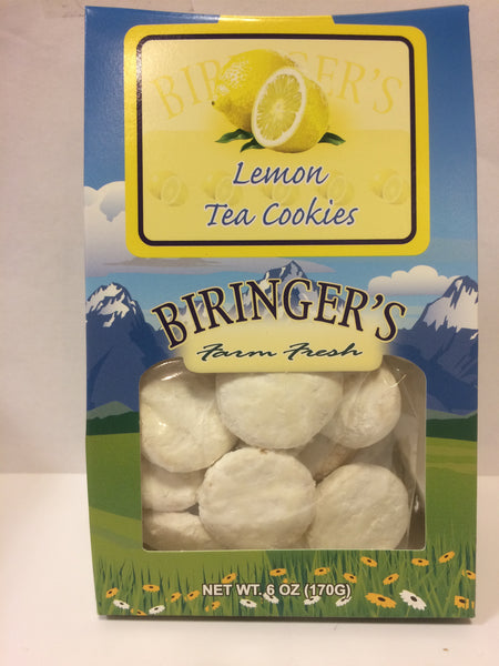 Cookies - Biringer's Tent Lemon Tea Cookies - 6 oz