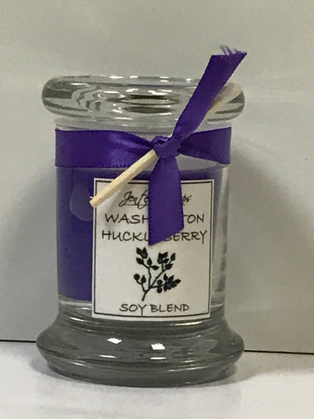 Candle - Washington Huckleberry - Round Glass Jar 4 oz