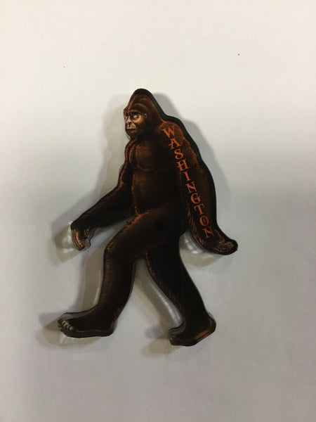 Washington Bigfoot Shaped Acrylic Magnet