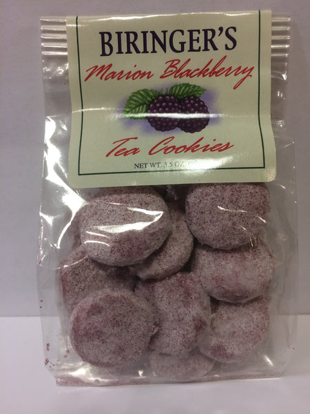 Cookies - Biringer's Marion Blackberry Tea Cookies - 3.5 oz