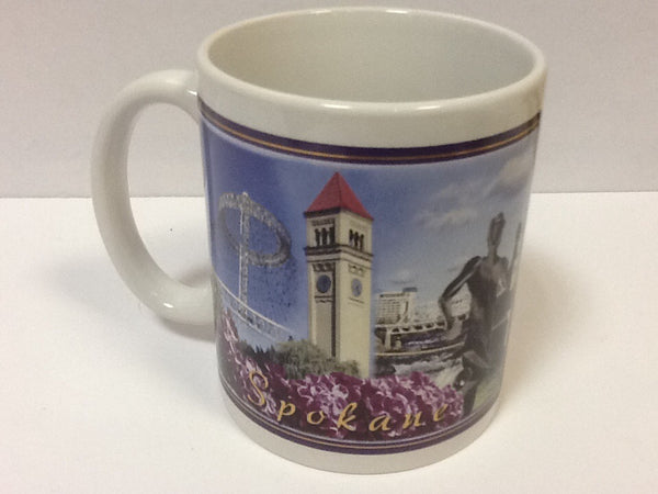 Spokane Signature Line Mug 11 oz