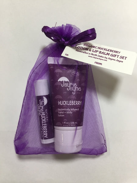 Gift Set - Huckleberry Lotion & Lip Balm