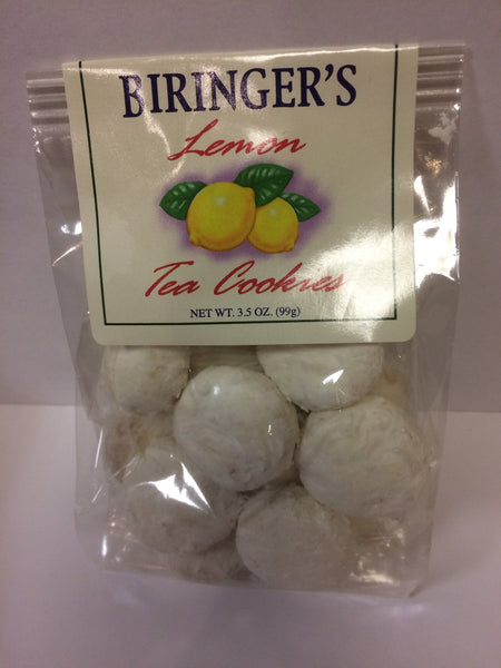 Cookies - Biringer's Lemon Tea Cookies - 3.5 oz