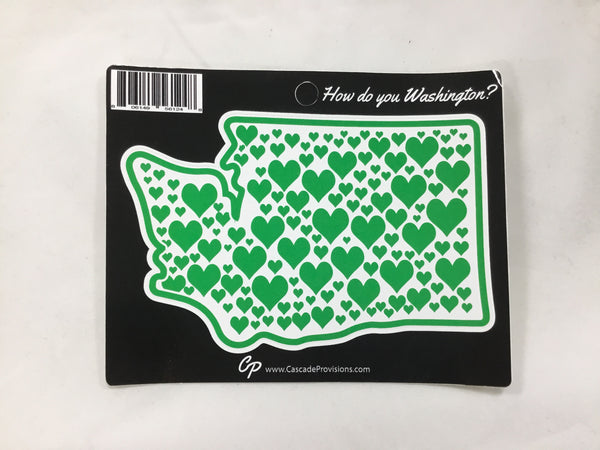 Stickers - Washington Hearts
