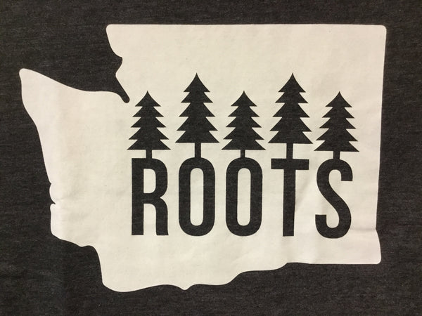 T-Shirt  - Roots in Washington State - Womens'