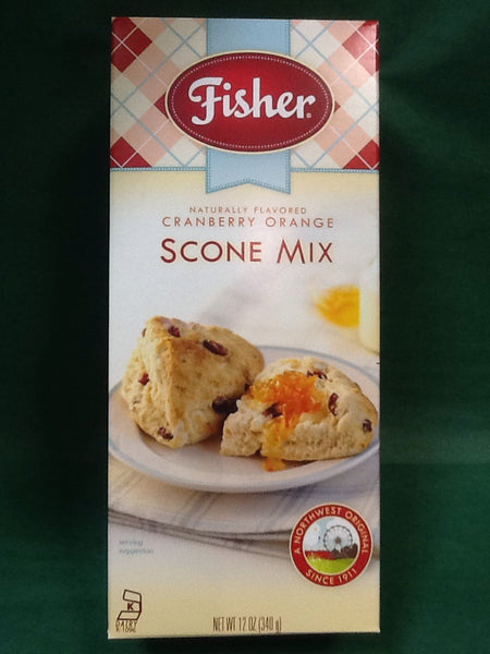 Fisher Cranberry Orange Scone Mix - 12 oz