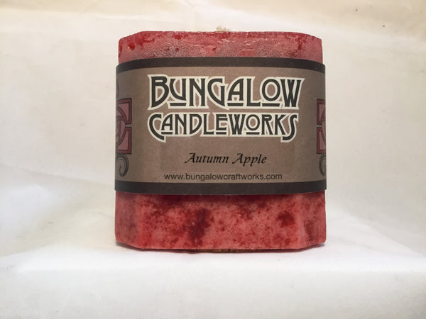 Candle - Autumn Apple - Chamfered 3