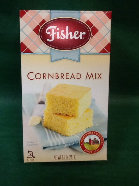 Fisher Cornbread Mix 8.5 oz