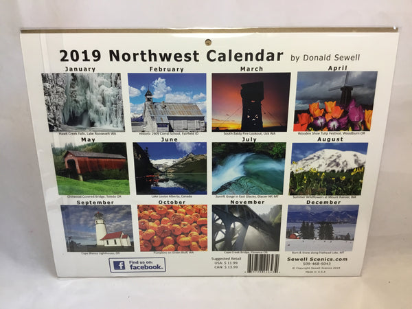Calendar - NW Collection -2019