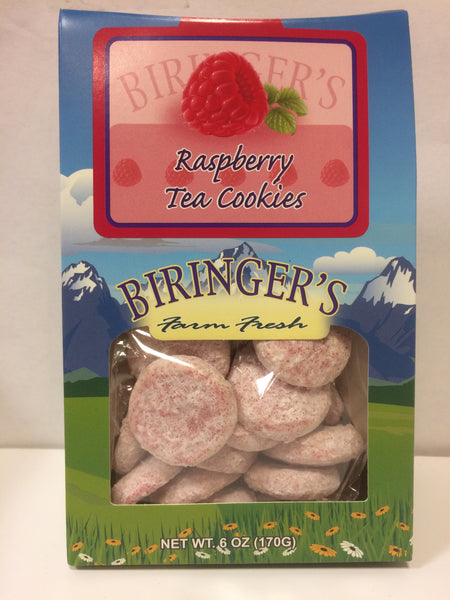 Cookies - Biringer's Tent Raspberry Tea Cookies - 6 oz