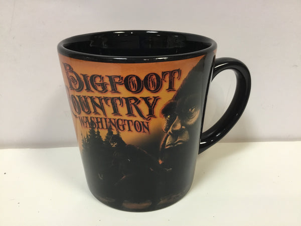 Washington Bigfoot Country 16oz Tapered Mug