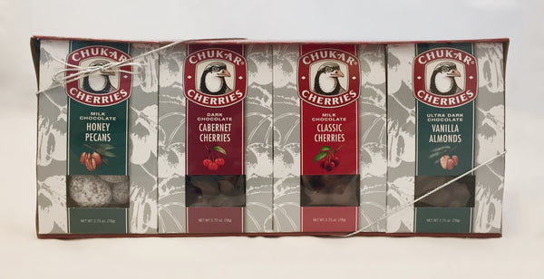 Gift Set - Chocolate Merry Quartet - 11oz