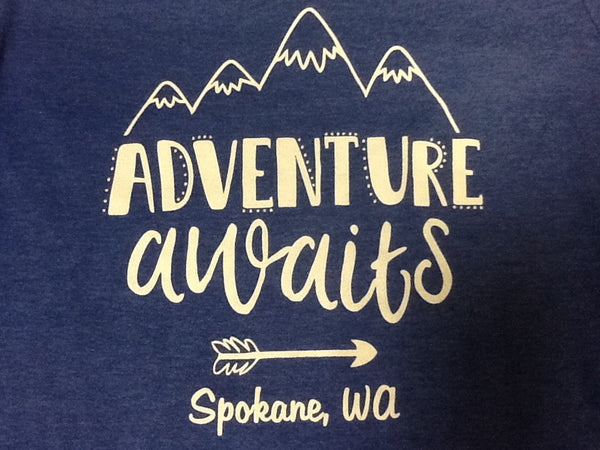 T-Shirt - Adventure Awaits - Womens'
