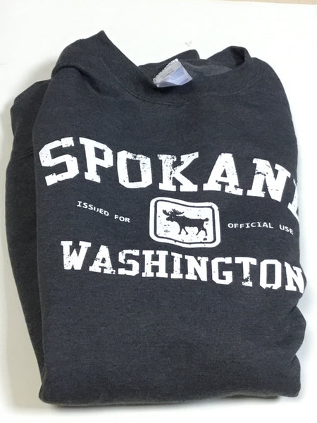Sweatshirt - Spokane Washington Issued for Official Use - Core Fleece Crewneck