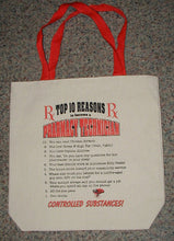 """Top Ten Reasons"" to be a Pharmacy Technician Canvas Tote Bag"
