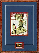 Norman Rockwell Pharmacist Print with Pharmacy Stamp
