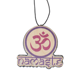 Color Ohm Circle with Namaste Text