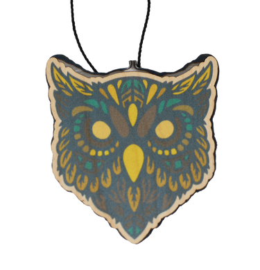 Color Nowhere Land Owl Head