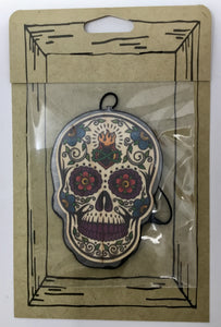Color Sacred Heart Sugar Skull