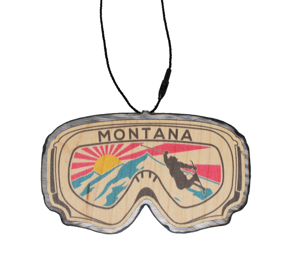 Color Ski Goggle (With Name Drop)