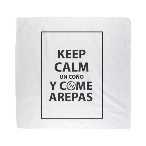 (Keep Calm y Come Arepas) Bandana - Good Vibes Venezuela