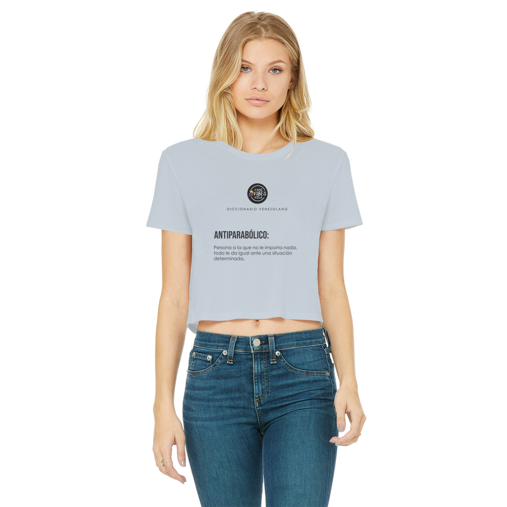 (Antiparabolico) Crop Top