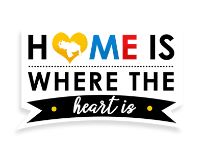 Stickers (Home is Where the Heart Is)