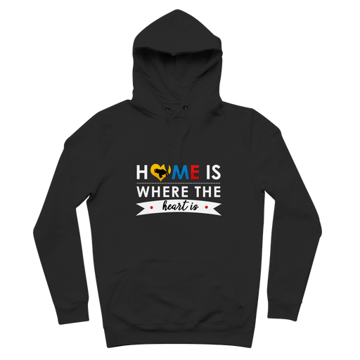 (Home is Where the Heart is) Suéter Premium - Good Vibes Venezuela