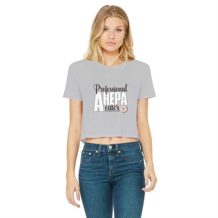 (Professional Arepa Eater) Crop Top