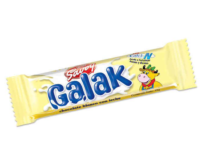 Chocolate Blanco Galak Savoy (30g)