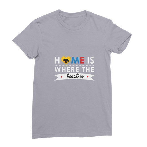 (Home is Where the Heart is) Franela Premium de Mujer - Good Vibes Venezuela