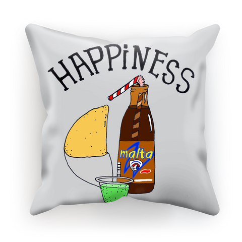 (Happiness Empanada) Funda de Cojín - Good Vibes Venezuela